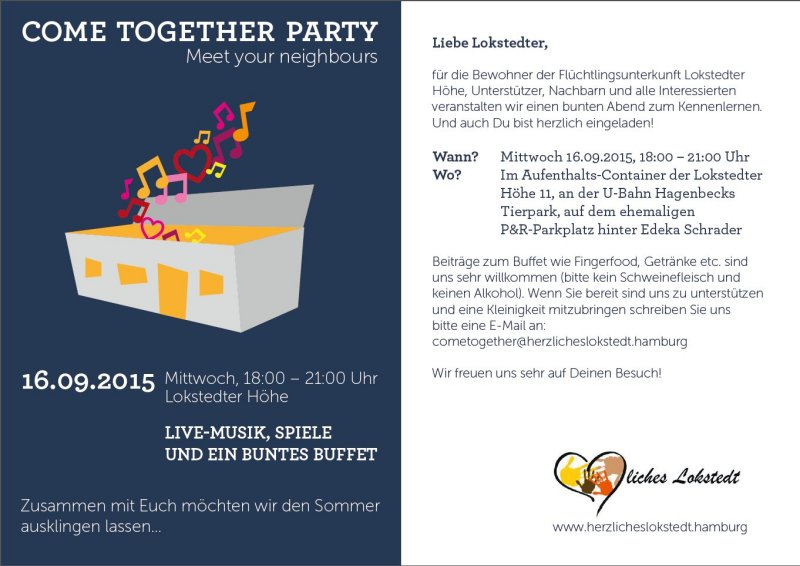 Come Together Party 16.09.2015